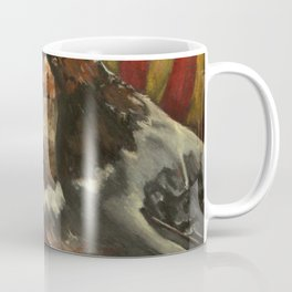 Rust and Stuffing, Oil Pastel Coffee Mug