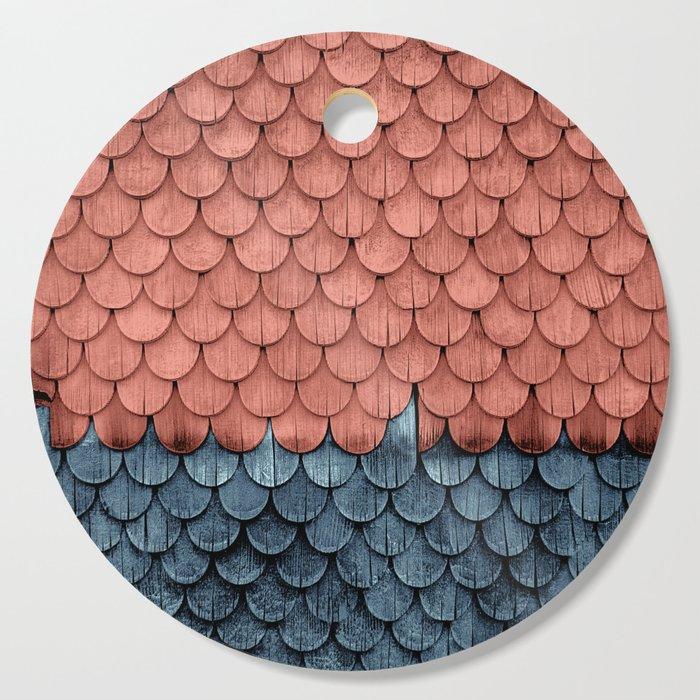 SHELTER / Little Boy Blue / Blooming Dahlia Cutting Board