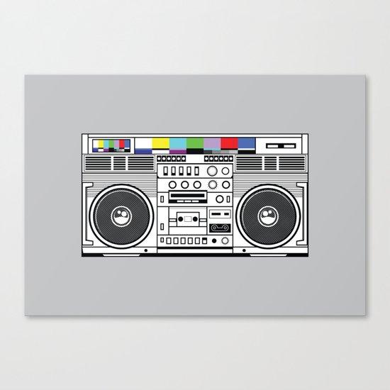 1 kHz #3 Canvas Print