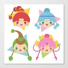 Amazoness Quartet Canvas Print
