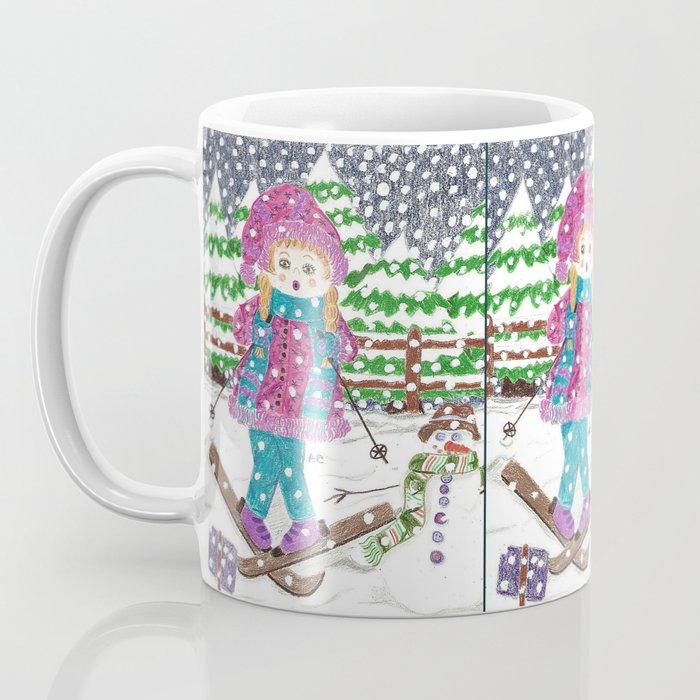 Ski girl Coffee Mug