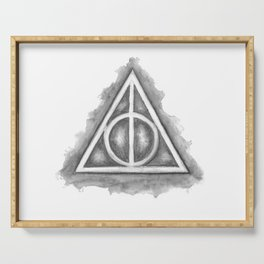 Deathly Hallows Serving Tray