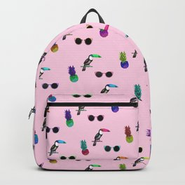 Tropical Print Take 2 Backpack