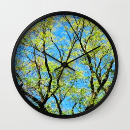 Full of Life Wall Clock
