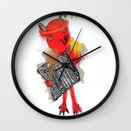 chansonnette francaise Wall Clock