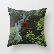 SEEING SOUNDS 2 Throw Pillow