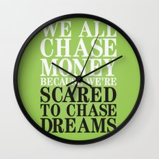 Dreamchaser Wall Clock