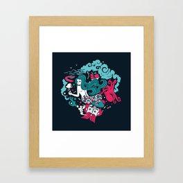 Rêve marin Framed Art Print