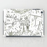 junk food iPad Cases featuring Junk by Lee Sargent