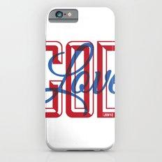 God is Love Slim Case iPhone 6s