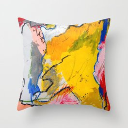 Stumpy Dancer Throw Pillow