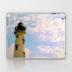 Cloudy at the Lighthouse Laptop & iPad Skin