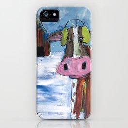 Wiscowsin Winter iPhone Case