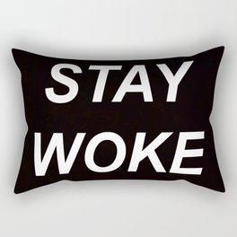 STAY WOKE // QUOTE Rectangular Pillow
