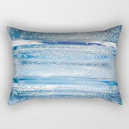 Air bubbles in bottle of water Rectangular Pillow