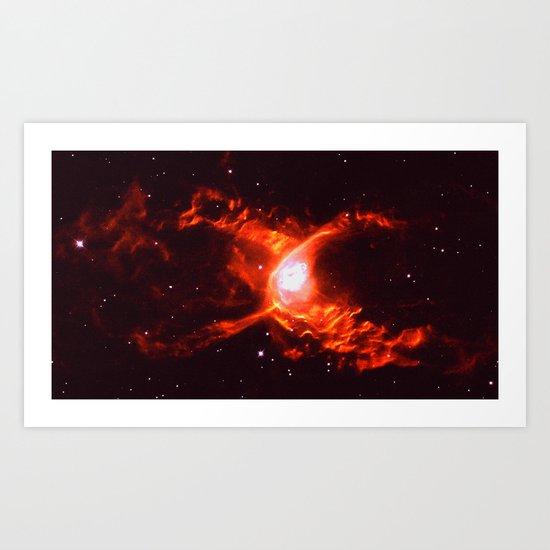 299 792 458 m/s Art Print