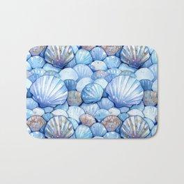 Sea Shells Aqua Bath Mat