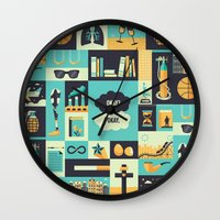 tfios Wall Clocks featuring TFiOS Items by Risa Rodil