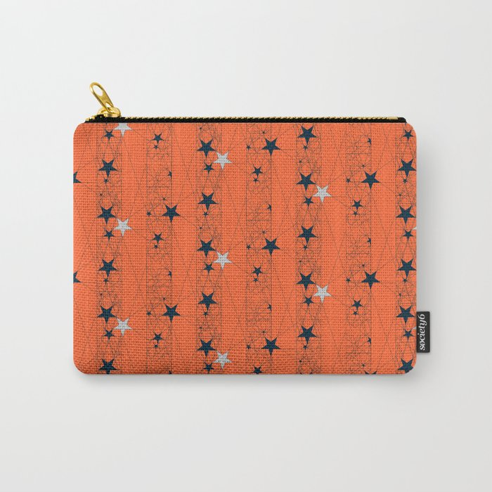 Orange Juice Stars Carry-All Pouch