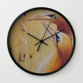 Crazy Love | L'Amour fou Wall Clock