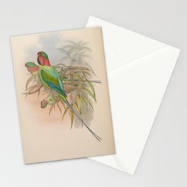 Malacca Parrakeet Stationery Cards