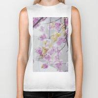 blossom Biker Tanks featuring Blossom by FedericaGiordano