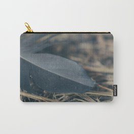 Black Feather Carry-All Pouch