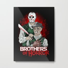 Brothers of Horror Metal Print