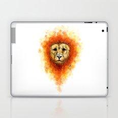 Gesture Lion with Mane Laptop & iPad Skin