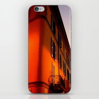 milan iPhone & iPod Skins featuring MILAN SUNSET by arteri