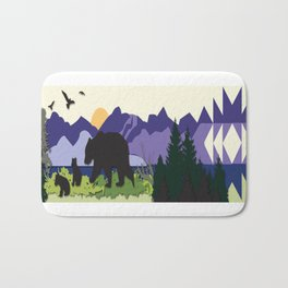 Morning Stroll Bath Mat