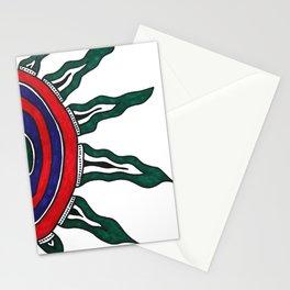 Tribal Sun Stationery Cards