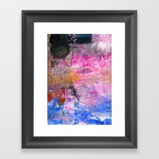 It's About the Lace, Silly Framed Art Print