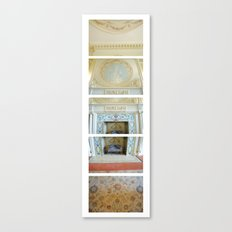Dinning Hall/ Bass Mansion Canvas Print