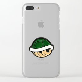 Turtle Shell - Mario Bros Clear iPhone Case