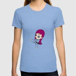 karategirl Karate female Woman Daughter fighting T-shirt