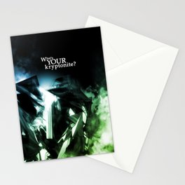 What's Your Kryptonite? Stationery Cards