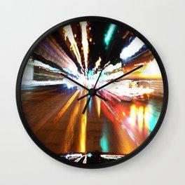 nite nite zoom zoom Wall Clock