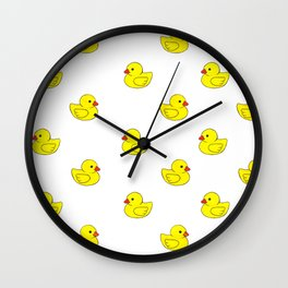 Oh Ducks! Wall Clock