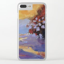Sunset at the Sespe River Clear iPhone Case