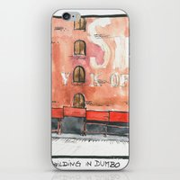 dumbo iPhone & iPod Skins featuring DUMBO by Marion L