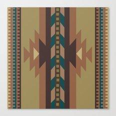 American Native Pattern No. 118 Canvas Print