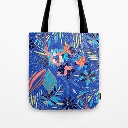 Floating Flowers Tote Bag