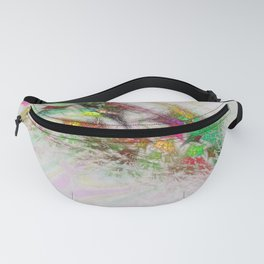 Flowering Graffiti Abstract Art Fanny Pack