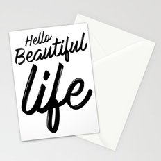 Hello Beautiful Life Stationery Cards