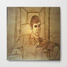 Al Pacino by Double R Metal Print
