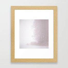 Misty Atmosphere Framed Art Print