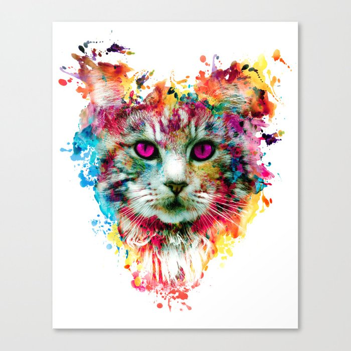 Cat II Canvas Print