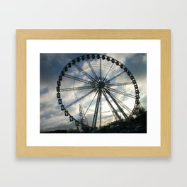 Roue de Paris Framed Art Print
