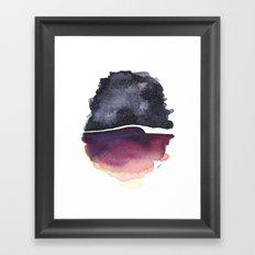 Star Egg Framed Art Print